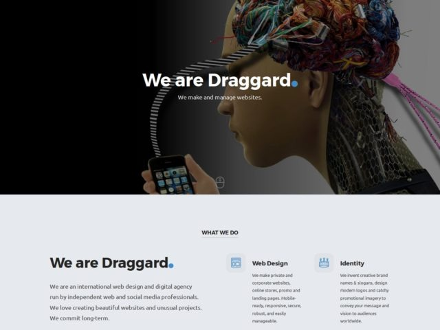 Current version of draggard.com